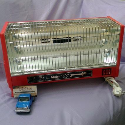 Fan heater MEHR ATRI-bistac-ir00
