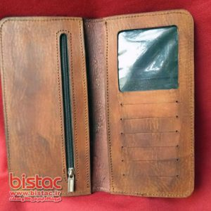 Men's wallet Leather Emerald-bistac-ir01