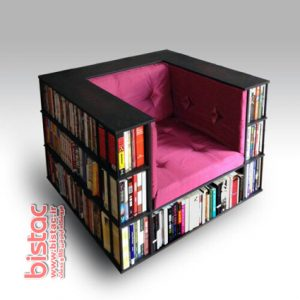 Sofa Book Intellectuals Library-bistac-ir01