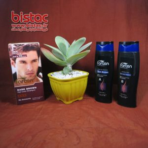 Farben Dark Brown Hair Color Shampoo bistac-ir01