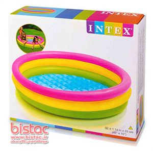 Intex 114-25 Inflatable Pool-bistac-ir