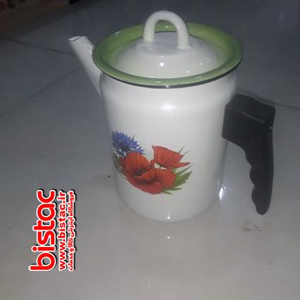 2 liter glazed kettle (Russia)-bistac-ir04