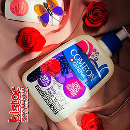 Comeon Dry skin face wash-bistac-ir04