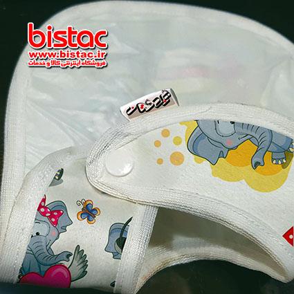 Elephant-design-baby-apron-bistac-ir02