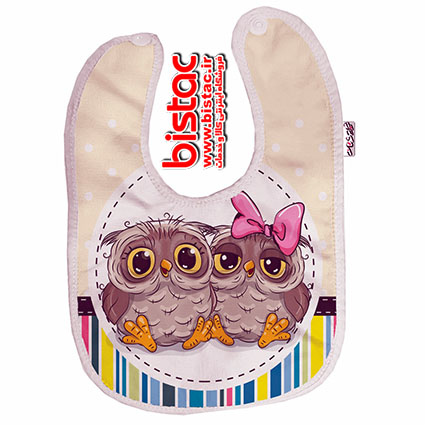 Owlet design Baby apron-bistac-ir00