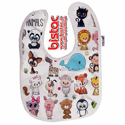 animals-design-baby-apron-bistac-ir00
