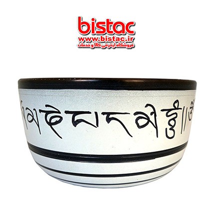 Tibetan Singer Bowl Pottery design-bistac-ir04