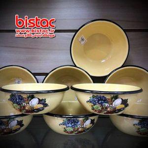 1 liter glazed Bowl (Russia)-bistac-ie00