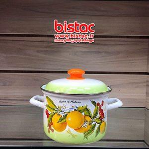 1 liter glazed pot Steel edge -bistac-ir01(Russia)