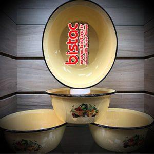 3.5 liter glazed Bowl Diameter 21 (Russia)-bistac-ir01