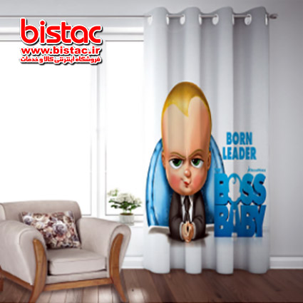 Curtain Room Design Baby Boss 804-bistac-ir00