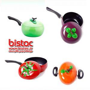 FRUIT design SOUP POT Teflon-bistac-ir00