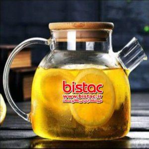 LIDOO GLASS TEA POT-bistac-ir00