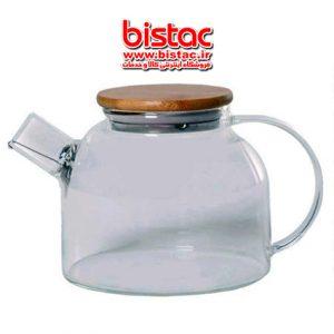 LIDOO GLASS TEA POT-bistac-ir03