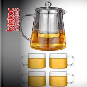 teapot-set-and-4-pyrex-cups SHANGYIXIN-bistac-ir00