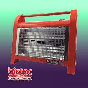 4-flame fan electric heater - Royal model-bistac-ir01