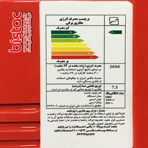 4-flame fan electric heater - Royal model-bistac-ir02
