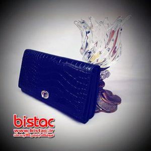 Snake skin wallet for Women-bistac-ir00