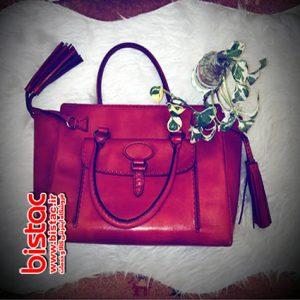 Tassled, women's handbag-bistac-ir00